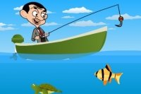 Jaś Fasola łowi ryby