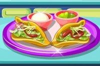 Przygotowywanie mięsa do taco