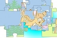 Puzzle z Bambim